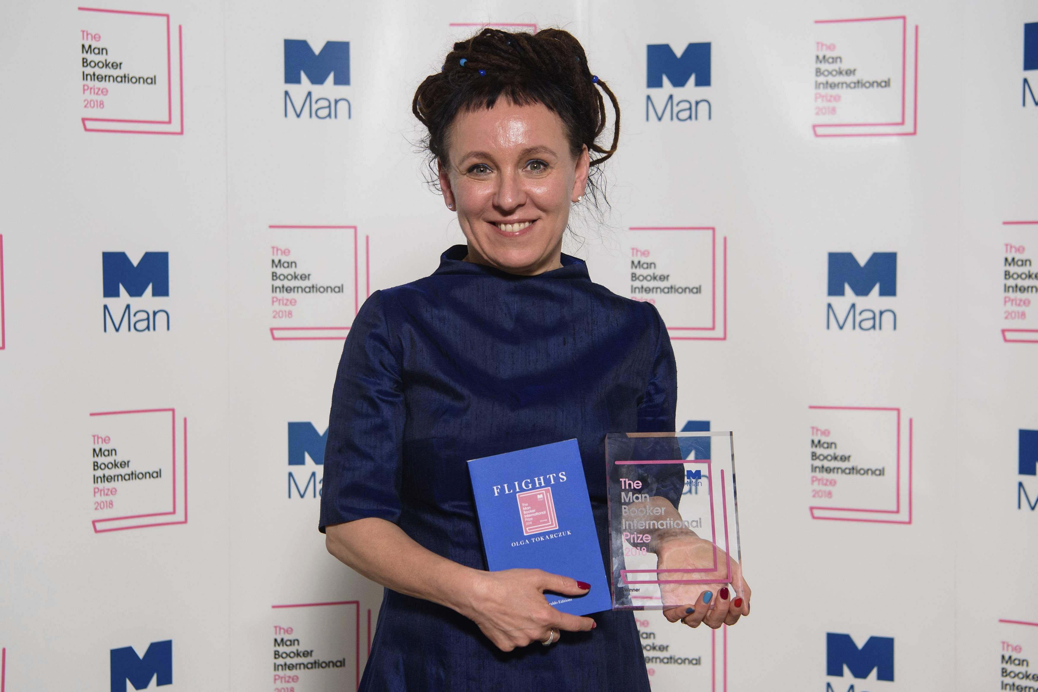 Olga Tokarczuk Wins Man Booker International Prize for 'Flights'