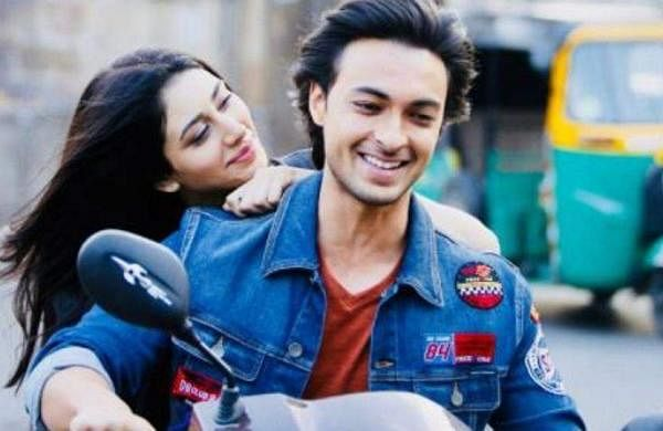 Aayush Sharma and Warina Hussain