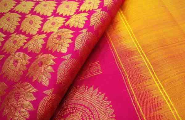 A sari from Suja Silks