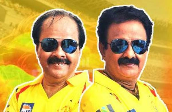 Crazy Mohan and Madhu Balaji