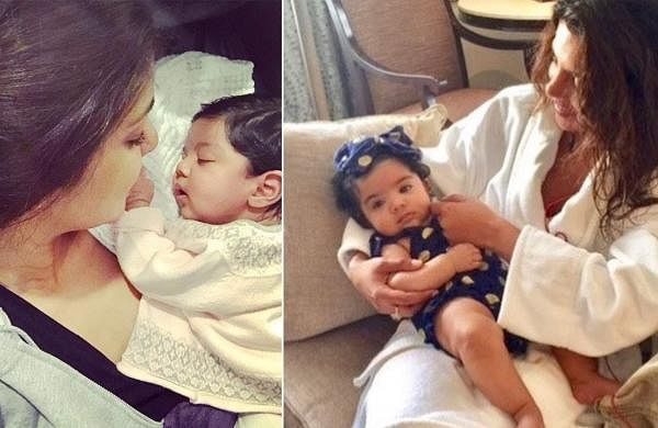 Priyanka Chopra with niece Krishna