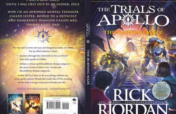 Rick Riordan, The Burning Maze
