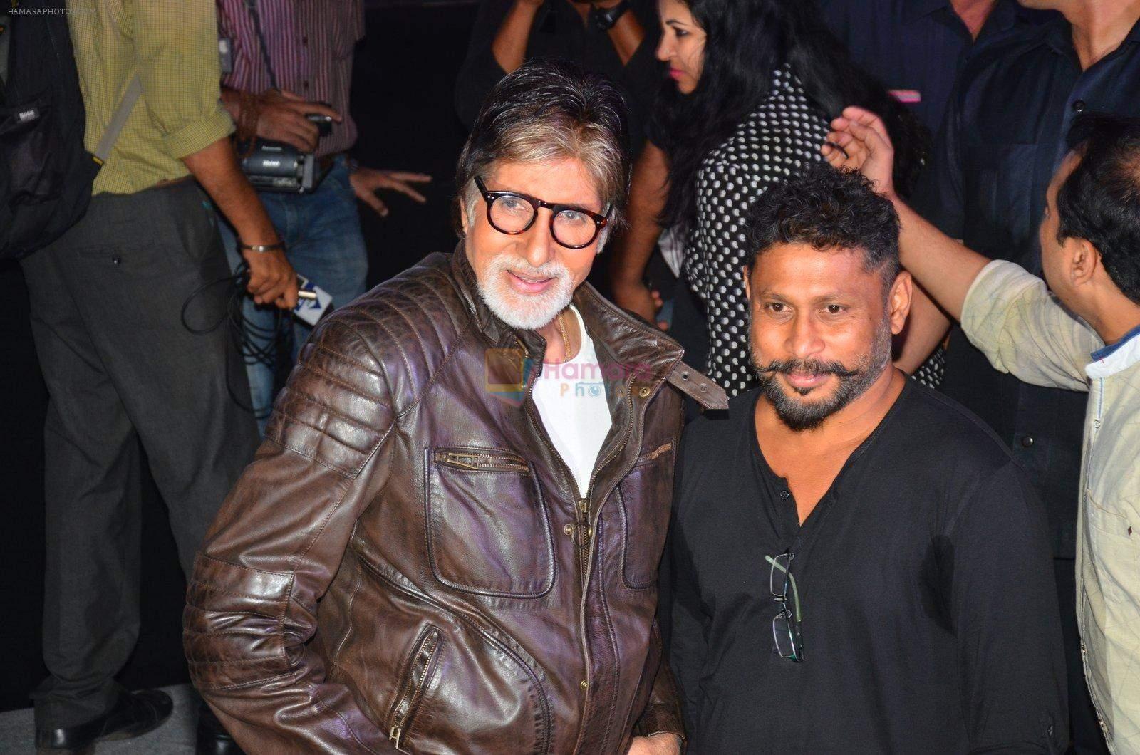 Amitabh Bachchan and Shoojit Sircar