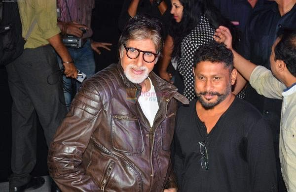 Amitabh Bachchan and Shoojit Sircar