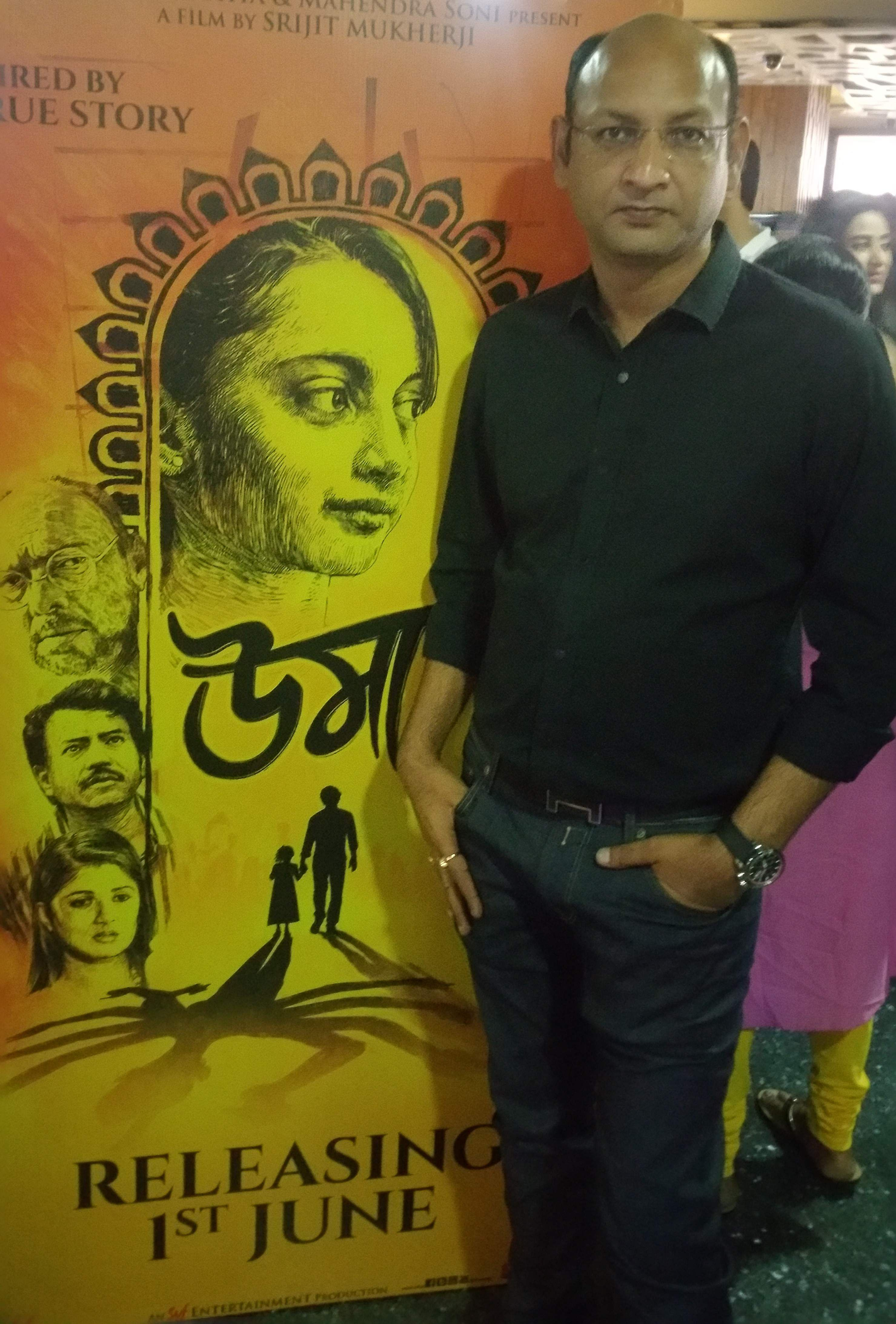 Shrikant Mohta, director, Shree Venkatesh Films, which produced the film Uma.