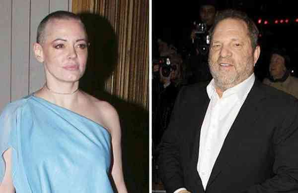 Rose McGowan, Harvey Weinstein