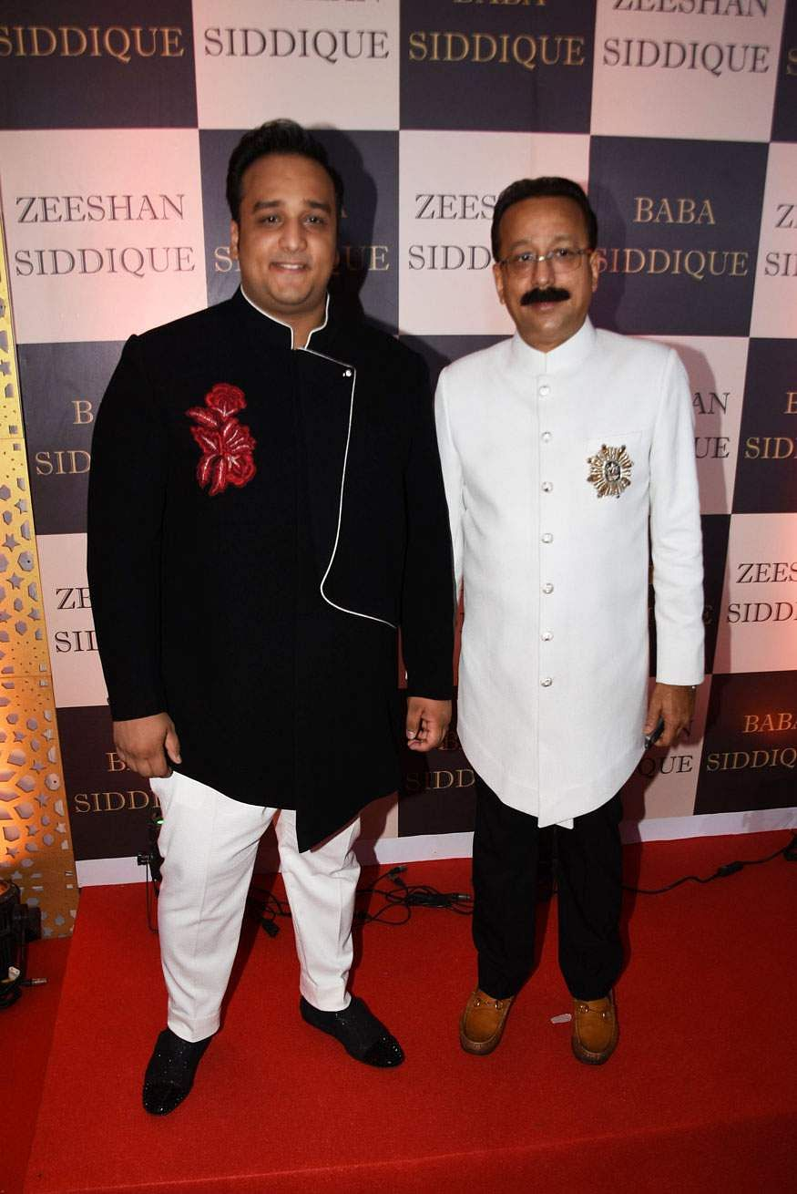 Zeeshan Siddique and Baba-Siddique