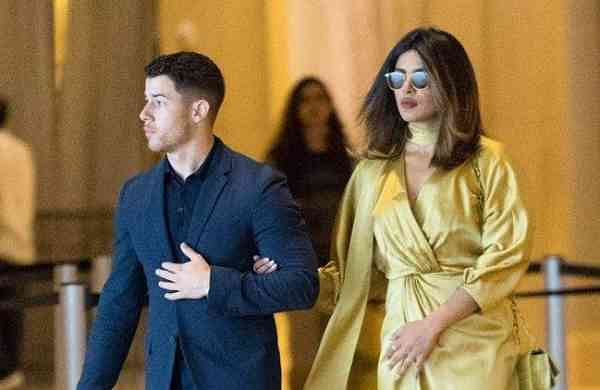 Nick Jonas and Priyanka Chopra