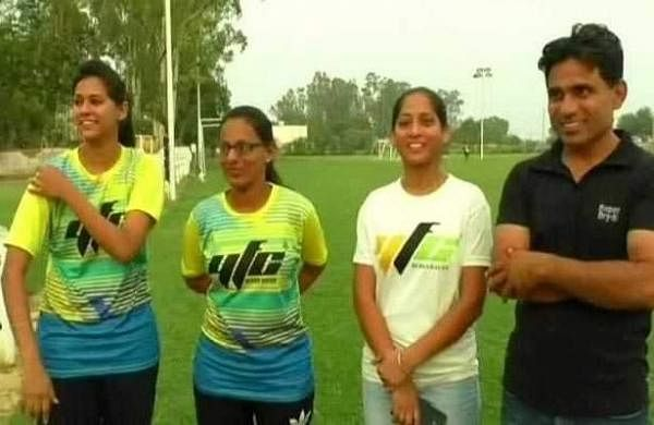 Girls from Punjab who are attending FIFA World Cup 2018