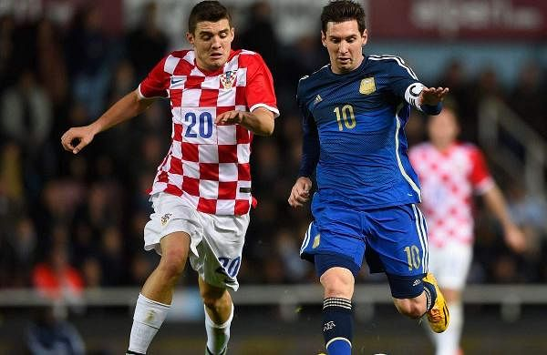 Fifa world cup 2018 Argentina vs Croatia