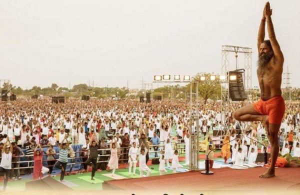 Baba Ramdev Guinness World Record