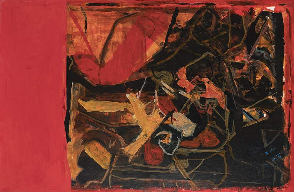 SH Raza, Trishna (1976), courtesy Piramal Museum of Art