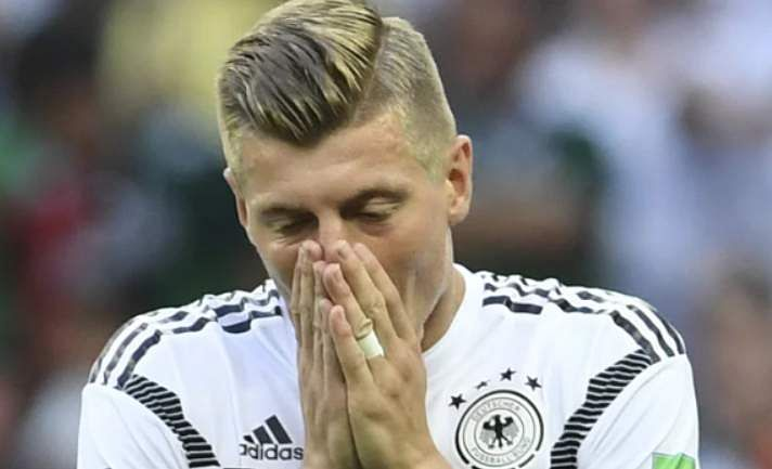 Germany's midfield maestro Toni Kroos has not only impressed with his performances on the field, but a coloured, cropped and swept back haircut has left his fans amazed