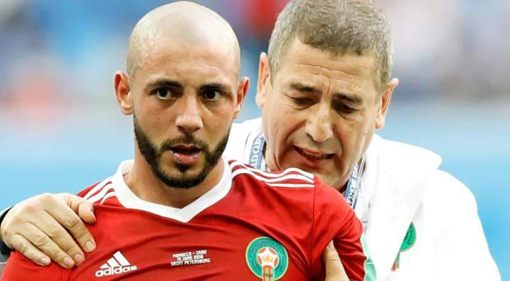 And finally there's Morroco attacker, Nordin Amrabat