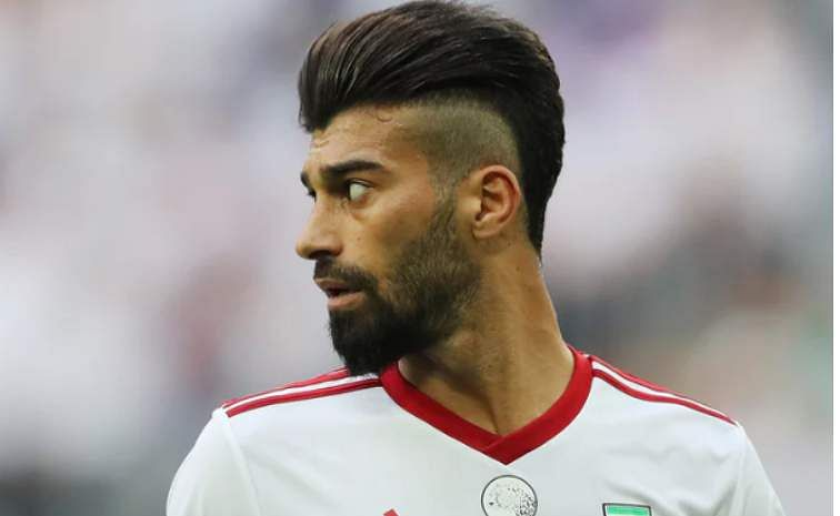 Iran's Ramin Rezameian is definitly a bouffant fan and his haircut has proved to one of the most talked topics in Iran a part from their performance