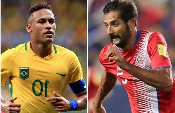 Brazil vs Costa Rica 2018 FIFA World Cup