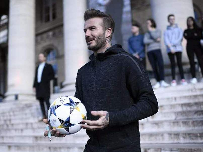 Former England captain David Beckham