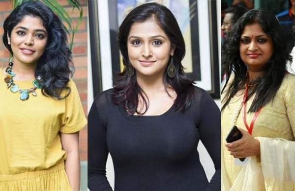 Rima Kallingal, Ramya Nambeesan and Geethu Mohandas Artistes Images