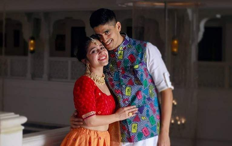 Shweta Tripathi Pre wedding Chaitanya Sharma