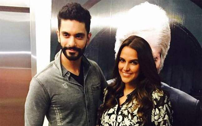 Angad Bedi and Neha Dhupia recent photo