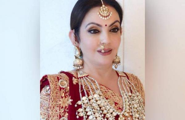 Nita Ambani actress engagement photo