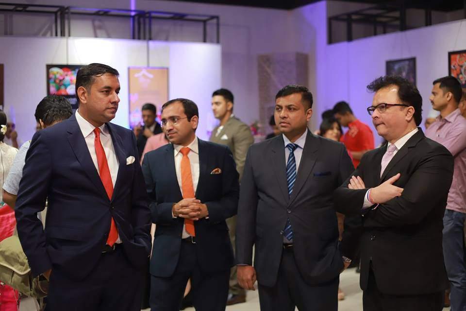 Gaurav Singh, GM, JW Marriott Kolkata,  Sunit Mukhija, Rooms Division Manager, The Oberoi Grand, Jaidev Dutta, Hotel Manager, The Lalit Great Eastern Kolkata, Pramode Bhandari, GM, The Park, Kolkata