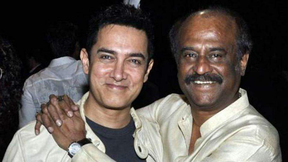 Aamir Khan and Rajinikanth