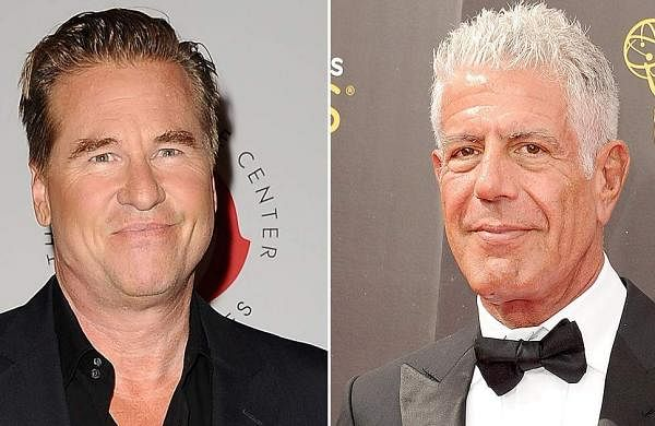 Val Kilmer, Anthony Bourdain
