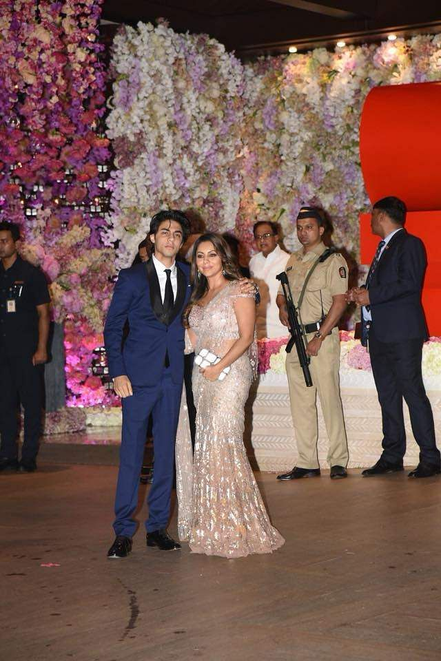 Aryan Khan and Gauri Khan