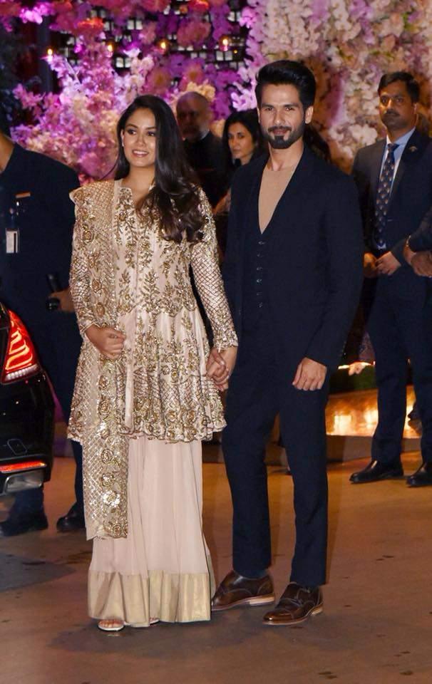 Mira Rajput and Shahid Kapoor