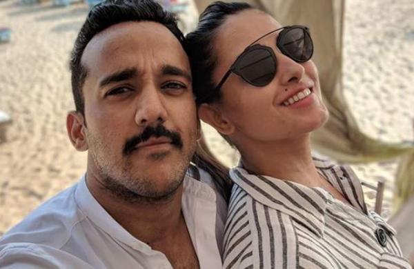 Anita Hassnandani and husband Rohit Reddy