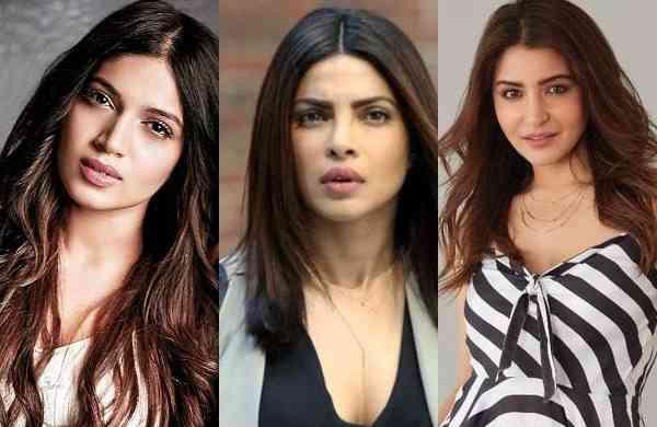 Priyanka Chopra, Anushka Sharma, Bhumi Pednekar Bollywood stars