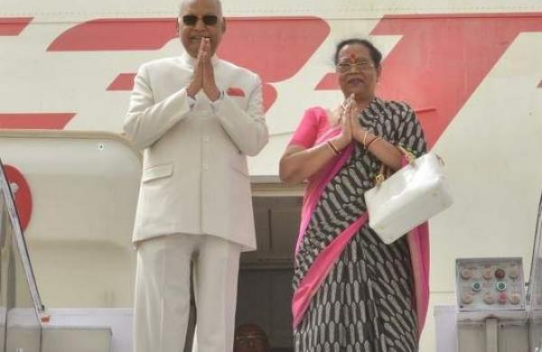 Savita Kovind and Ram Nath Kovind