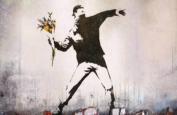 Banksy street art photo
