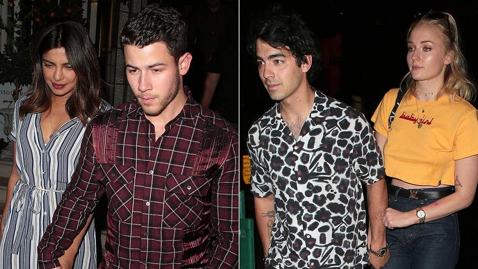 In Pics: Priyanka celebrates her birthday with Jonas brothers in London
