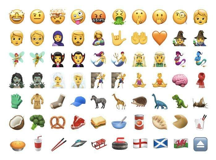 Apple surprises users by launching a set of 70 new emoticons