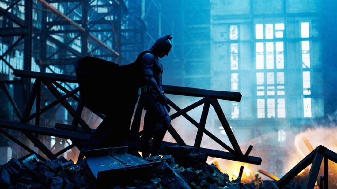 Celebrating 10th Anniversary,The Dark Knightset for Imax re-release