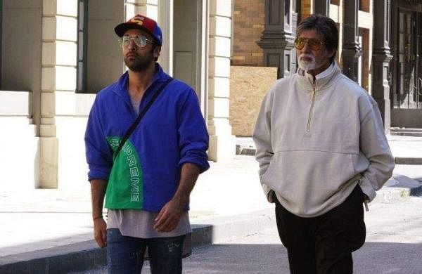 Ranbir Kapoor and Amitabh Bachchan photo