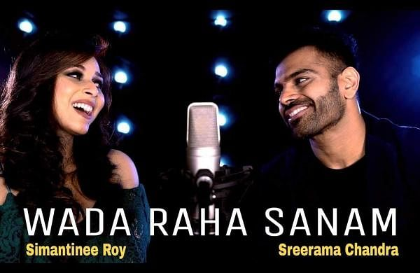 SimantineeRoy andSreeramaChandra collaborate with AjaySinghato create a magical cover version of WaadaRahaSanam