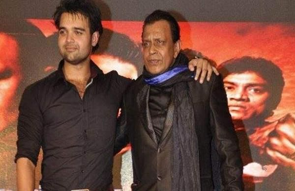 Mimoh Chakraborty and Mithun Chakraborty Photo