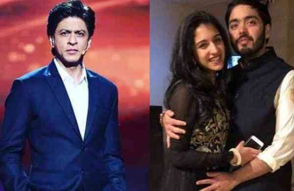 Watch: Shah Rukh Khan teases Anant Ambani with rumoured girlfriend Radhika Merchant