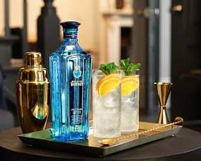 Bombay Sapphire gin-based cocktails