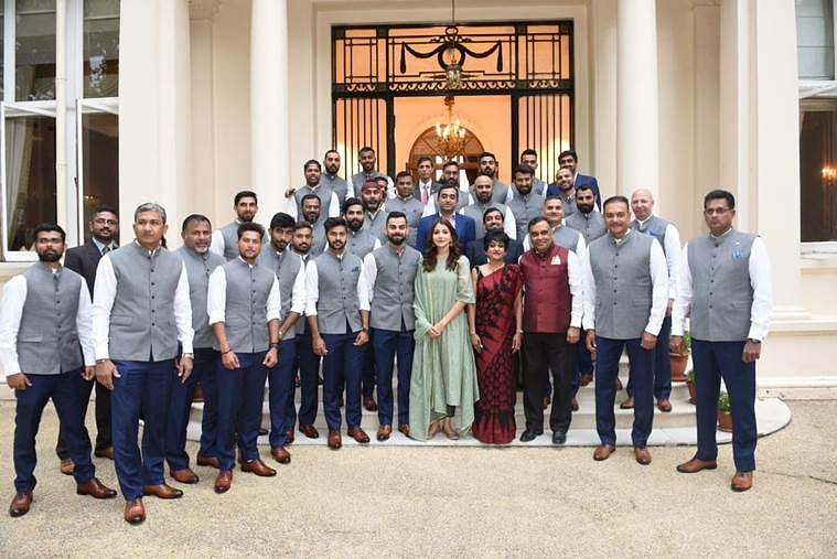 India Team group picture