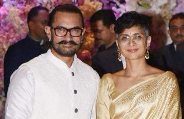 Aamir Khan Kiran Rao photo