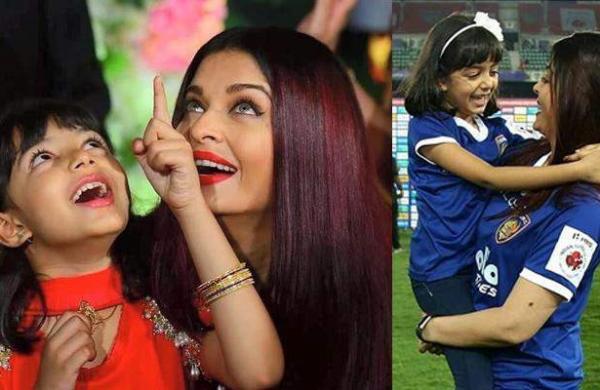 Aishwarya Rai daughter photo