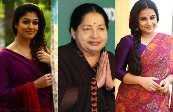 Jayalalitha biopic: Vidya Balan likely to play Amma, Nayantara expresses interest