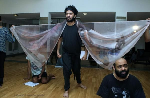 Prasanna Ramaswamy's latest play, Telling Stories addresses environmental degradation and peasant struggles