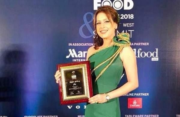 Celebrity Chef Amrita Raichand wins BBlunt Most Stylish Chef Award of the year