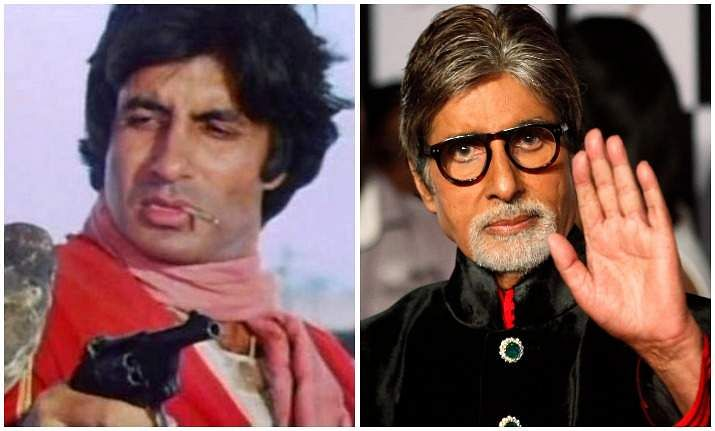 Amitabh Bachchan Old and new photo