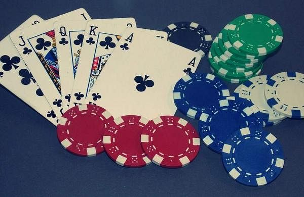 Poker game Photo